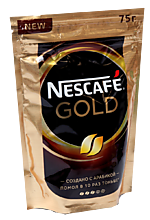 Кофе «Nestle» Nescafe Gold, 75 г