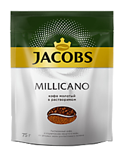 Кофе «Jacobs Monarсh» Millicano, молотый в растворимом, 75г