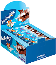 «BabyFox», шоколадный батончик с молочной начинкой, 47г