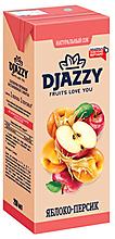 «Djazzy», сок яблоко-персик, 200мл