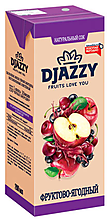 «Djazzy», сок фруктово-ягодный, 200мл