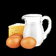 Молоко, Сыр, Яйцо