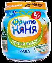 Пюре «ФрутоНяня» Груша, 100г