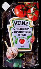 Кетчуп с чесноком и пряностями «Heinz», 350г
