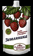 Земляника протертая с сахаром «Сибирская Ягода», 280г