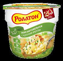 Пюре картофельное «Роллтон» со вкусом курицы, 40г