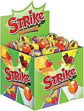 Карамель на палочке «Strike» с двойными вкусами, 11г
