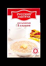 Хлопья 5 злаков «Русский завтрак», 400г