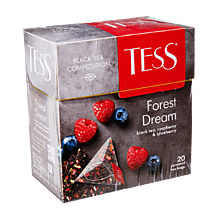 Чай черный «Tess» Forest dream, 20 пирамидок, 36 г