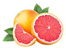Грейпфрут поштучно, 0,2 - 0,8кг