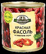 Красная фасоль «Домашние заготовки» в томатном соусе, 400г