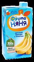 Нектар детский «ФрутоНяня» Банан с мякотью, 500мл