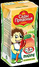 Пюре «Сады Придонья» Яблоко и персик, 125мл