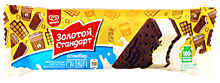 Мороженое «Золотой стандарт» Сэндвич, 69г