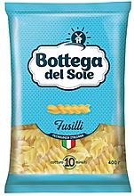 «Bottega del Sole», макаронные изделия «Спирали», 400г