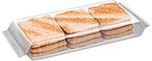 Печенье «Зебра», с топленым молоком, 170г