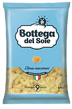 Макароны «Bottega del Sole» Рожки, 400г