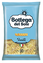 Макароны «Bottega del Sole» Спирали, 400г