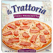 Пицца «La Trattoria» с ветчиной, 335г