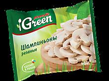 Шампиньоны резаные «Морозко Green», 400г