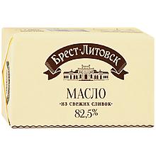 Масло 82.5% «Брест-Литовск» сладко-сливочное несоленое, 180г