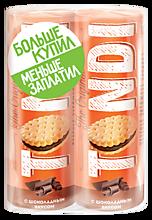 Печенье-сендвич «Tondi» с шоколадным вкусом, 364г