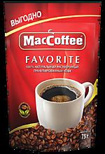 Кофе растворимый гранулированный «MacCoffee» Favorite, 75г