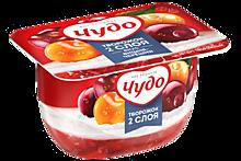 Творожный десерт 4% «Чудо» со вкусом вишни и черешни, 100г