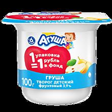 Творог детский 3.9% «Агуша» Груша, 100г