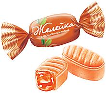 Карамель «Желейка» со вкусом апельсина (упаковка 0,5кг)