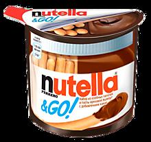 Паста шоколадная «Nutella» с хлебными палочками, 52г
