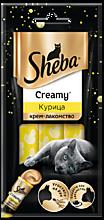 Крем-лакомство для кошек «Sheba» с курицей, 36г
