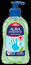 Мыло жидкое «Aura» с антибактериальным эффектом и Алоэ Вера, 300мл