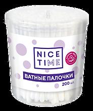 Ватные палочки «Nice Time» в стакане