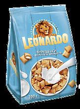 Зерновые подушечки «Leonardo» 5 злаков, с молочной начинкой, 200г