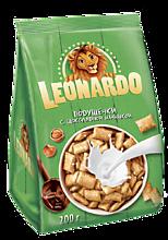 Зерновые подушечки «Leonardo» 5 злаков, с шоколадной начинкой, 200г