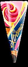 Мороженое «Extreme» Рожок малина-банан, 120мл