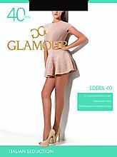 Колготки женские «Glamour Edra» 40 den, nero, size 2