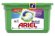 Капсулы для стирки «Ariel» Liquid Capsules Color