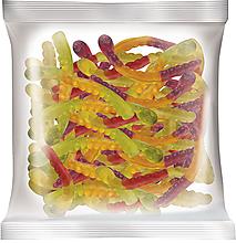 «КрутФрут», мармелад жевательный со вкусами вишни и маракуйи, колы и лайма, черной смородины и апельсина (упаковка 0,5кг)