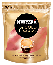 Кофе «Nescafe Gold» Crema, 70 г