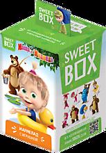 Мармелад жевательный «Sweet box» с игрушкой «Маша и медведь», 10г