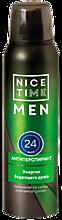 Антиперспирант «Nice Time» Man Энергия бодрящего душа