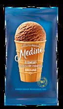 Мороженое «Medino» шоколадный пломбир в вафельном стаканчике, 70г