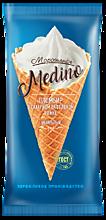 Мороженое «Medino» ванильный пломбир в рожке, 95г