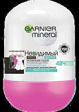 Роликовый дезодорант «Garnier mineral» Свежесть алоэ