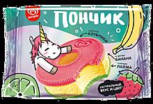 Мороженое «Инмарко» молочный «Пончик» с банановым вкусом, в печенье, 52г