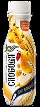 Биойогурт питьевой 2% «Слобода» с грушей и злаками, 260г
