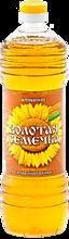 Масло подсолнечное «Золотая семечка» нерафинированное, 1л