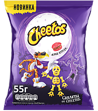 Кукурузные снеки «Cheetos» Краб бургер, 55г